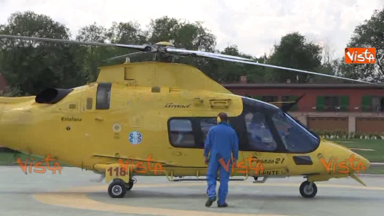 Elisoccorsi I Decolli Degli Elicotteri Sul Grande Raccordo Anulare