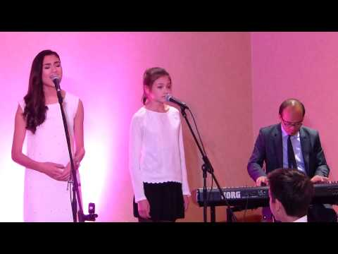 Classic song - Erin and Anna at Grandparents 50th Anniversary
