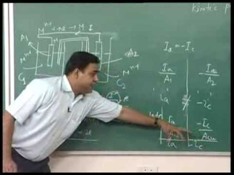 Mod-01 Lec-11 Solved problems on the corrosion rate, Exchange current density