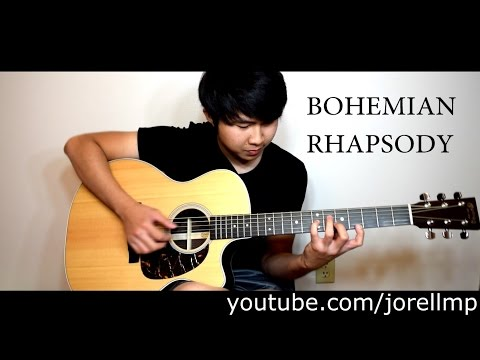 Queen - Bohemian Rhapsody (Fingerstyle cover by Jorell)