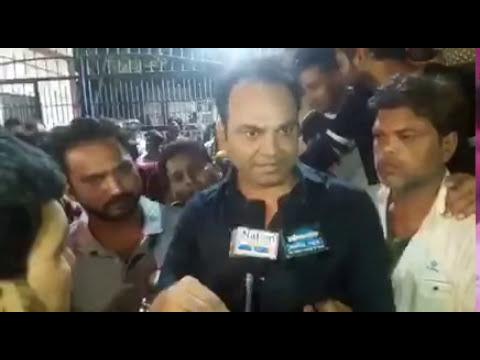 SALIM MERCHANT Social activist TV interview  Evm machine faulty/ preset in election 2017