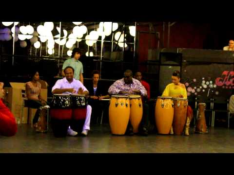 AFRO-CUBAN DANCE Weekend. Rumba solar. Part 2