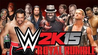 Last Man Standing [Royal Rumble] - WWE 2K15 Gameplay, Commentary