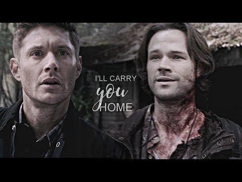 sam & dean || I'll carry you home.