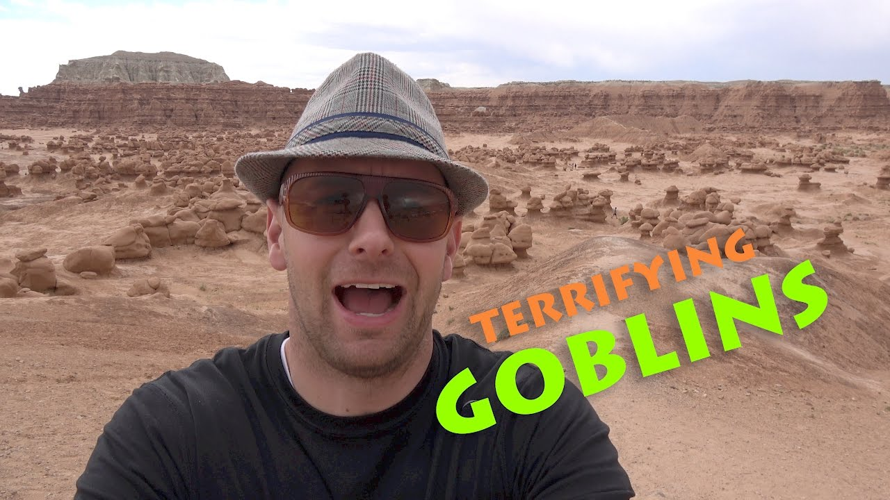 bcfdcc314d Goblin Valley Tag in a THUNDERSTORM! - YouTube