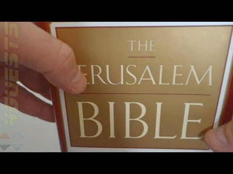 JERUSALEM BIBLE READER'S EDITION ~ NON-CATHOLIC REVIEW