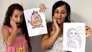 DESAFIO COLORINDO COM 3 CORES (3 MAKER CHALLENGE) - Sarah de Araujo