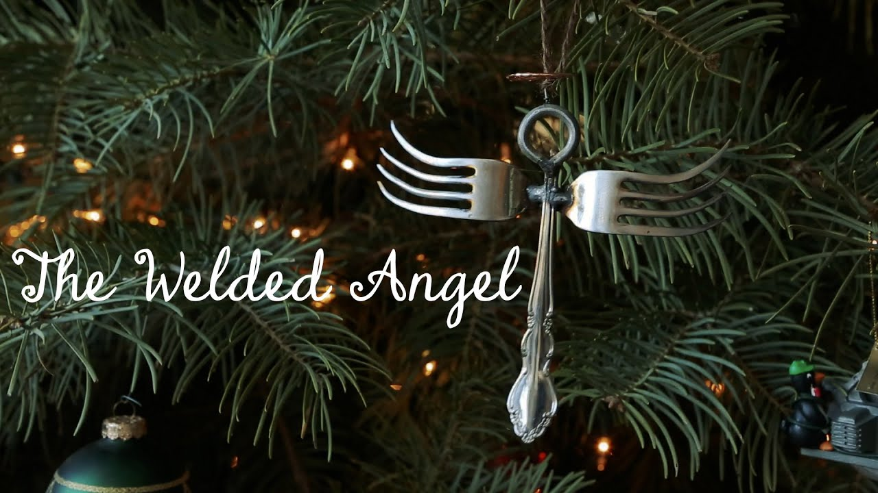 The Welded Angel  How To Weld Forks And Stuff For The Holidays  Youtube