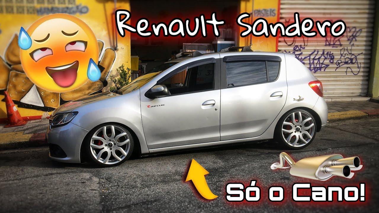 """Renault Sandero Rebaixado Fixa! Aro 18"""" Rodas do Mini Cooper"""