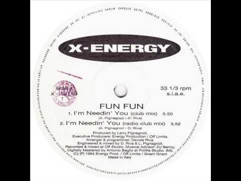 Fun Fun - I'm Needin' You (Radio Club Mix)