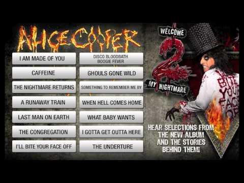 Alice Cooper Welcome 2 My Nightmare Album Preview