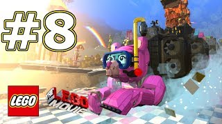 The LEGO Movie Videogame Walkthrough - Level 8: Escape From Cloud Cuckoo Land!