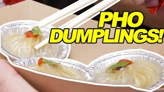 Pho Soup Dumplings!