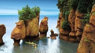 Bay Of Fundy, Hopewell Rock, New Brunswick