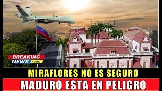 Maduro corre PELIGRO en Miraflores falla en la SEGURIDAD