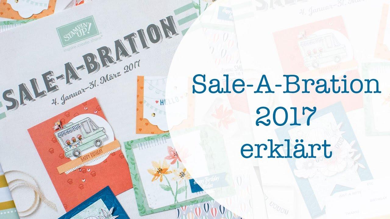 stampin up sale a bration 2017 pdf
