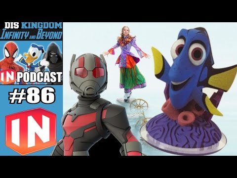 Disney Infinity 3.0 & Beyond #86 - Finding Dory, Alice In Wo