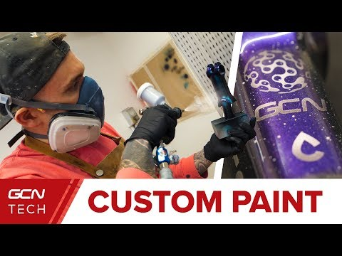 Custom Paint - A Masterclass In Bespoke Bicycle Paintwork