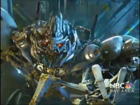High Tech used in Transformers: The Ride - 3D