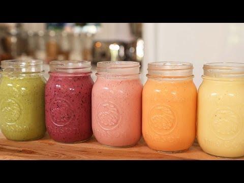 5 Healthy Breakfast Smoothies!