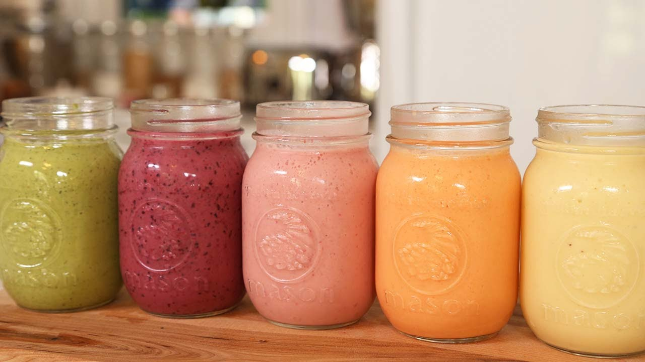 5 Steps to a Healthy Homemade Smoothie