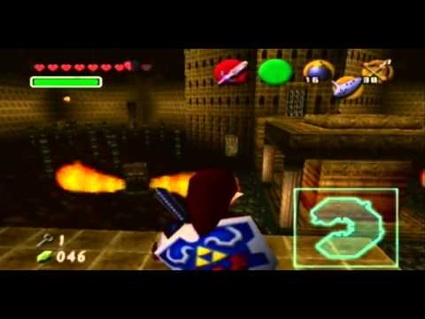 Ocarina of Time Part 10: Fire Temple (No Commentary)