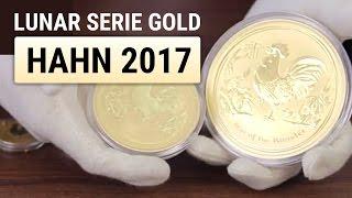 Goldmünzen kaufen - Lunar II Serie Gold - Hahn 2017 [GOLD]
