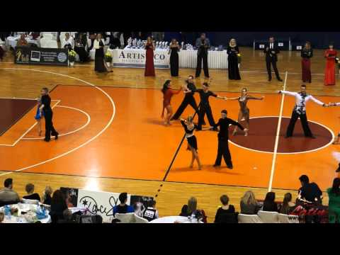 Athens DanceSport Open 2015: Adults: IDSA Europeran Cup Latin: QuarterFinal