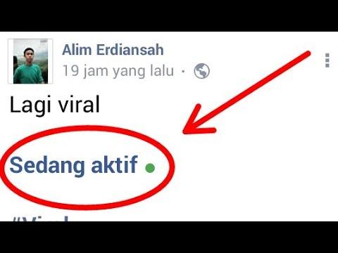 Viral Cara Membuat Status Sedang Aktif Di Facebook Youtube