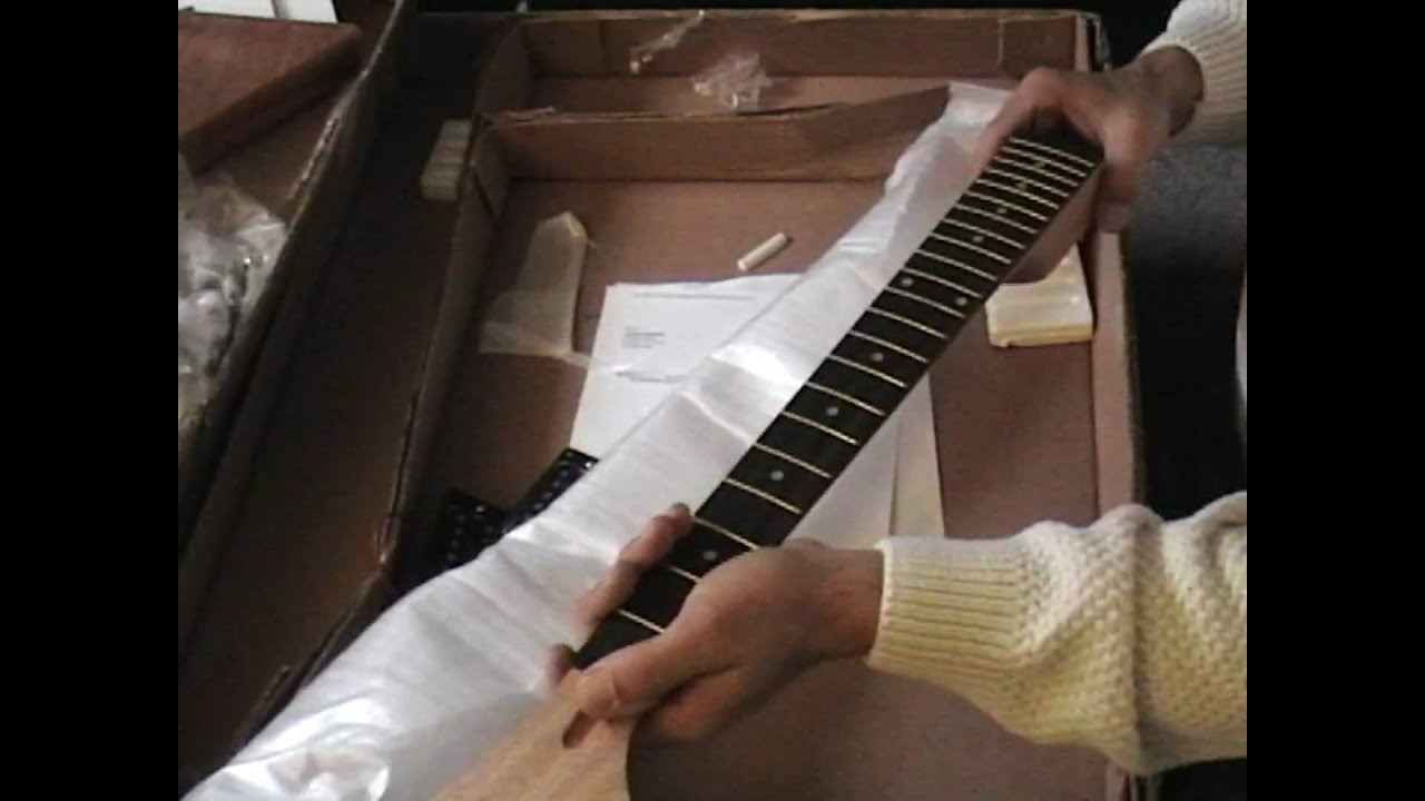 gibson explorer guitar build part 1 [ 1280 x 720 Pixel ]