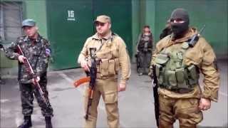 мусора Донецк днр  07-07-2014 присяга №2