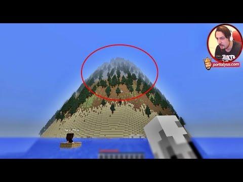 BU NASIL DAĞ? | Minecraft Türkçe Gizemli Dağ | Bölüm 1
