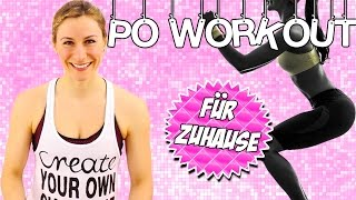 Po Workout für zuhause MEGA Intensiv | Po Workout in nur 8 Minuten | VERONICA-GERRITZEN.DE