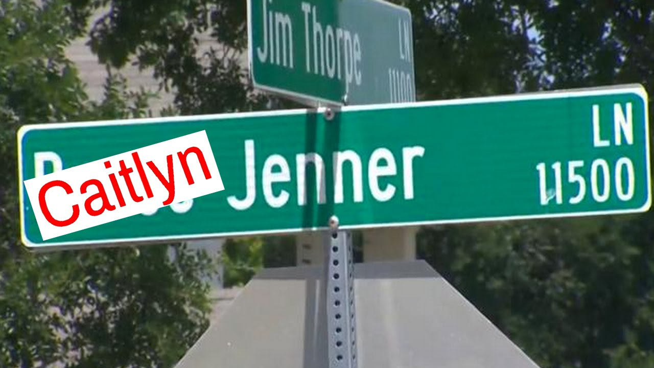 Should bruce jenner street names be updated to caitlyn youtube