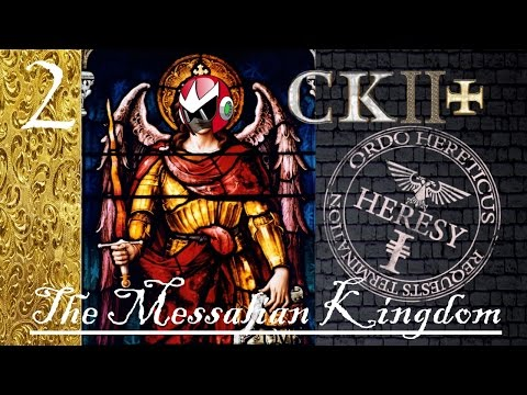 Crusader Kings 2 Reaper's Due | CK2+ Mod | Messalian Heresy Inbreeding | Part 2