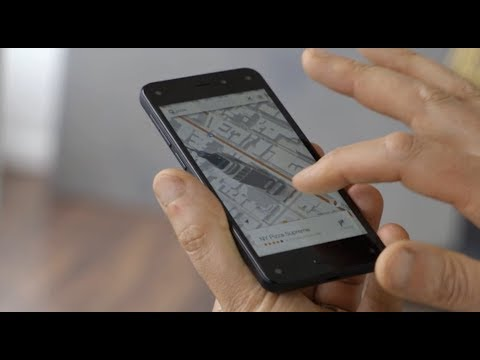 Check the revolutionary 3D UI Amazon Fire Phone