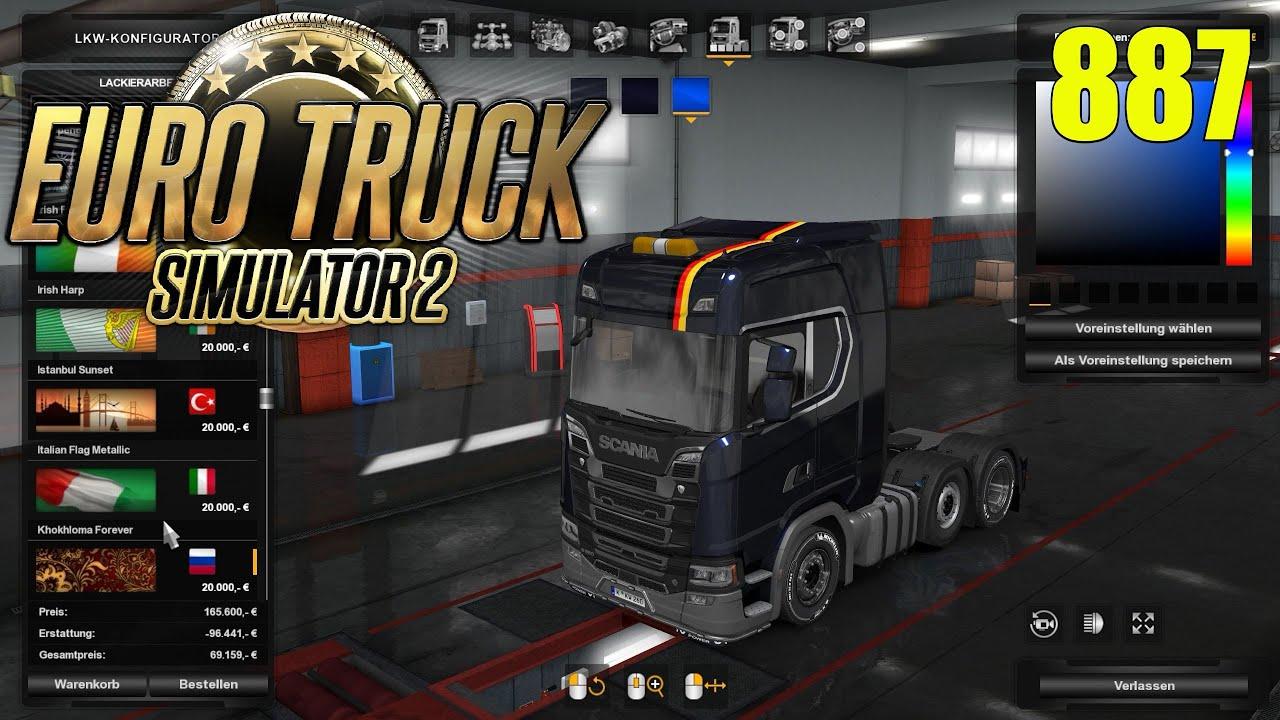 Ets2 887 Tuning Kontrollen In Aachen Euro Truck Simulator 2 Promods Gameplay