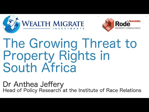 Growing Threat  to Property Rights | Rode Reim Event JHB 2015