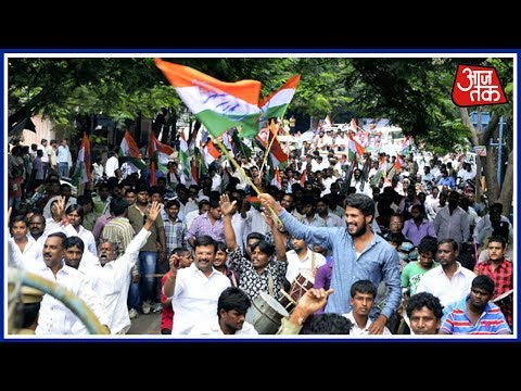 100 Shehar 100 Khabar: Congress Workers Protest In Hyderabad Pertaining To GST