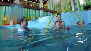 Обучение плаванию от 0+ до 4лет. Ныряем с мамой. Кстово. Аквапарк Атолл Груднички 1год