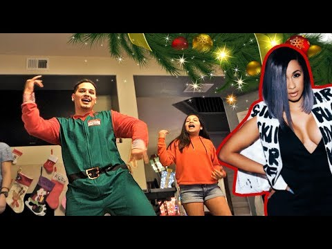 Performing Bodak Yellow At Mexican Family Christmas Party!