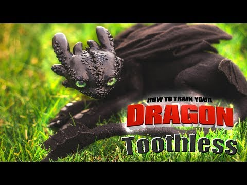 How To Train Your Dragon Toothless l Art Doll Tutorial thumbnail