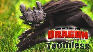 How To Train Your Dragon Toothless l Art Doll Tutorial