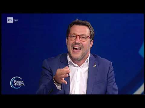 Matteo Salvini - Porta a porta 11/06/2020