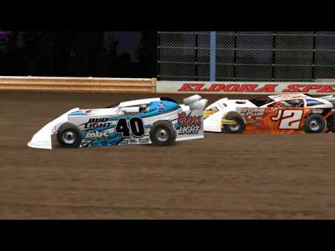 rFactor DWD Late Models at Eldora Speedway