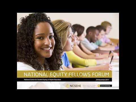 2017 NCSEHE National Equity Fellows Forum