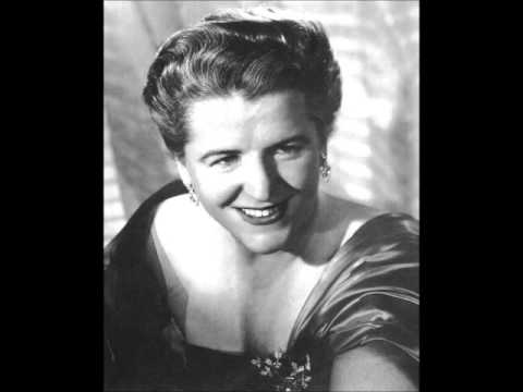 "Joan Hammond, soprano, ""O mio babbino caro"" in English, Columbia about 1947"