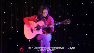 Living On A Prayer - Hac Nho (live) Fingerstyle Guitar Contest