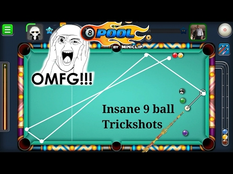 20 MILLION BET - 9 BALL POOL - Insane 9 ball pool trickshots + Best Denial ever xD ?