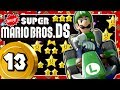 NEWER SUPER MARIO BROS. DS 13: Mario Kart Rainbow Road & Super Mario Land 2 Space-Zone  Vibes